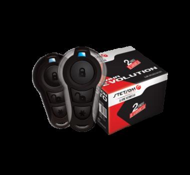 Alarme Stetsom Moto Triplo 1 Com Bloqueio E Ignição Por Controle (Convencional + Presença)