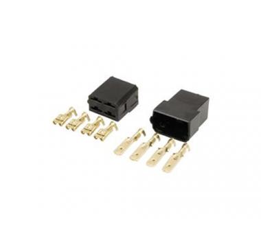 Conector 4 Vias C/ Terminais - Pct C/ 10-Per