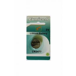Bateria Cr 2477 Lithium P/ Duo Block-Eunicel